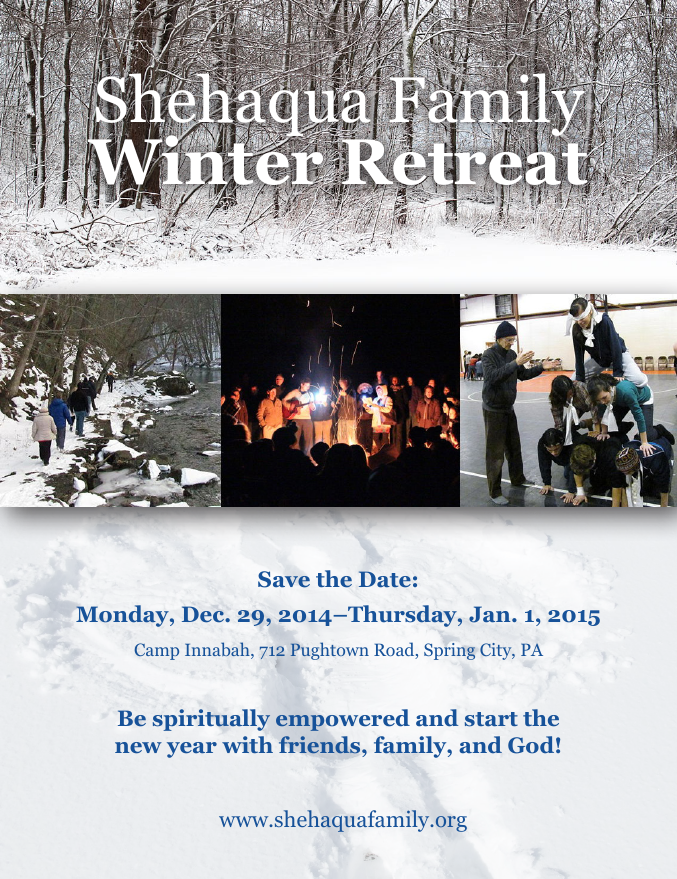 Image showing Winter Retreat Flyer